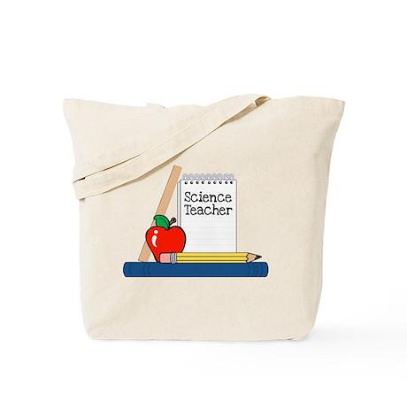 Science Teacher (Notebook) Tote Bag