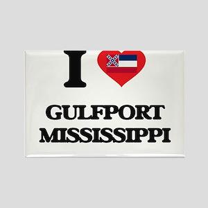 I love Gulfport Mississippi Magnets
