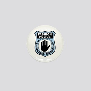 Fashion Police Uniform Mini Button