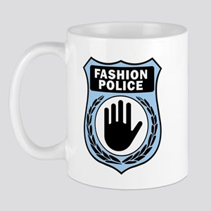 Fashion Police Uniform Mug
