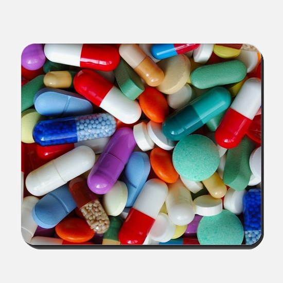pills drugs Mousepad