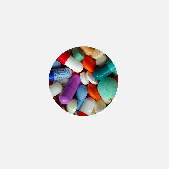 pills drugs Mini Button