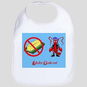 Lobster Dude-no butter Bib