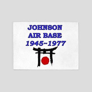 johnson air base japan 5'x7'Area Rug