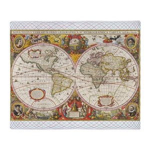 World map blankets cafepress gumiabroncs Image collections