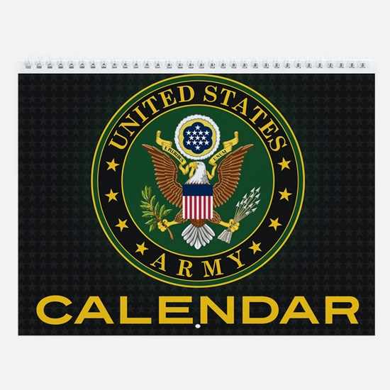 Cute Usarmy Wall Calendar