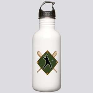 Baseball Diamond with Stainless Water Bottle 1.0L
