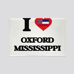 I love Oxford Mississippi Magnets