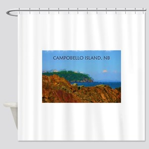 Campobello Island, NB, Canada Shower Curtain