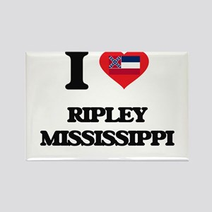I love Ripley Mississippi Magnets