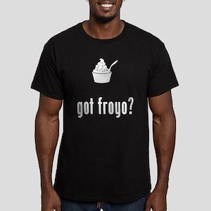 Frozen Yogurt Men's Fitted T-Shirt (dark)