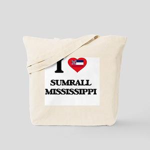 I love Sumrall Mississippi Tote Bag