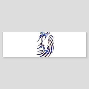 Magical Mystical Horse Portrait Bumper Sticker