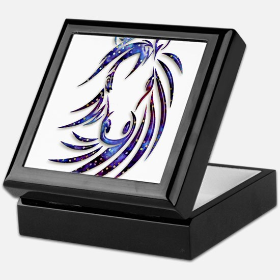Magical Mystical Horse Portrait Keepsake Box