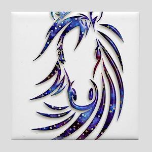 Magical Mystical Horse Portrait Tile Coaster