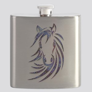 Magical Mystical Horse Portrait Flask
