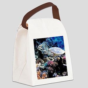 Sea Turtle Canvas Lunch Bag