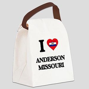 I love Anderson Missouri Canvas Lunch Bag