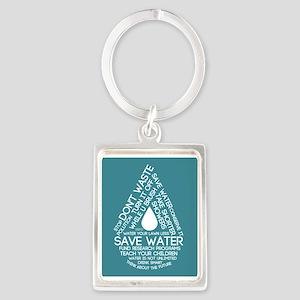 Save Water Keychains