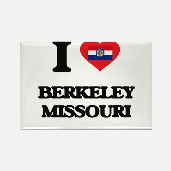 I love Berkeley Missouri Magnets