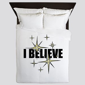 I Believe Queen Duvet