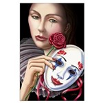 Behind the Mask Large 23x35 Poster