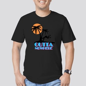 Outta Nowhere Men's Fitted T-Shirt (dark)