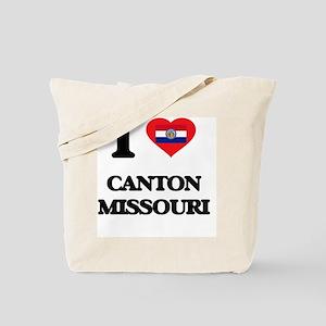 I love Canton Missouri Tote Bag