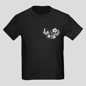 FLOWERS & BF 10/17 Kids Dark T-Shirt