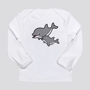 Dolphins Long Sleeve Infant T-Shirt