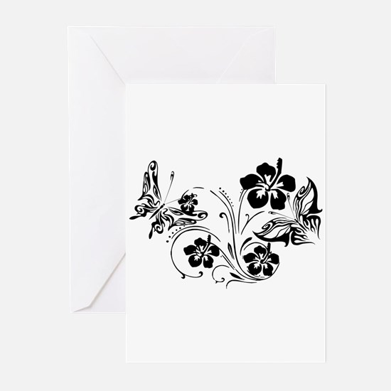 FLOWERS & BF 10/17 Greeting Cards (Pk of 10)