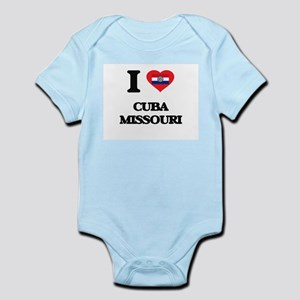 I love Cuba Missouri Body Suit