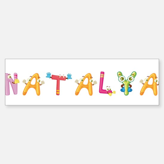 Natalya Bumper Bumper Bumper Sticker