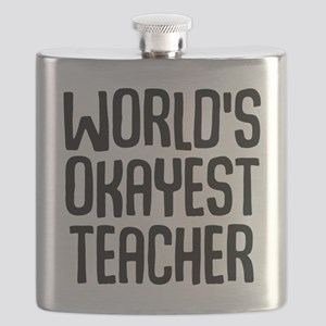 World's Okayest Teacher Flask
