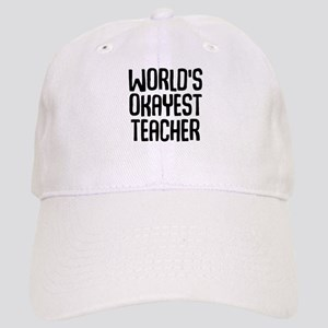 World's Okayest Teacher Cap