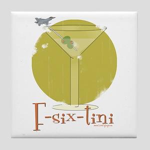 F-six-tini Tile Coaster