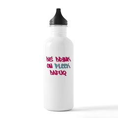 Dis Drink On Fleek Water Bottle