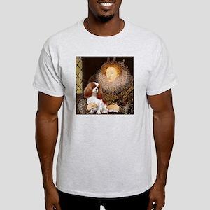 Queen Elizabeth I & Cavalier Ash Grey T-Shirt