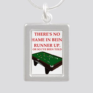 billiards joke Necklaces