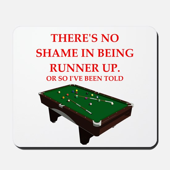 billiards joke Mousepad