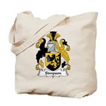 Simpson Family Crest Tote Bag