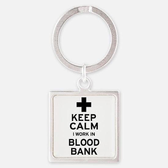 Keep Calm Blood Bank Keychains