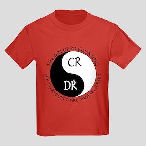 Zen of Accounting Kids Dark T-Shirt