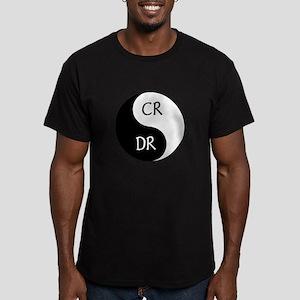 Zen of Accounting Men's Fitted T-Shirt (dark)
