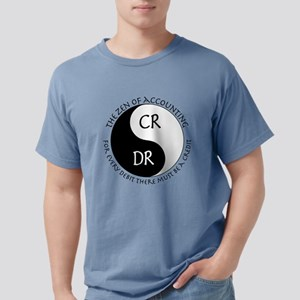 Zen of Accounting Mens Comfort Colors Shirt