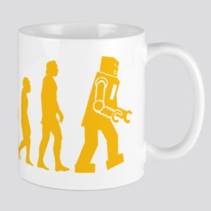 Robot Evolution 11 oz Ceramic Mug