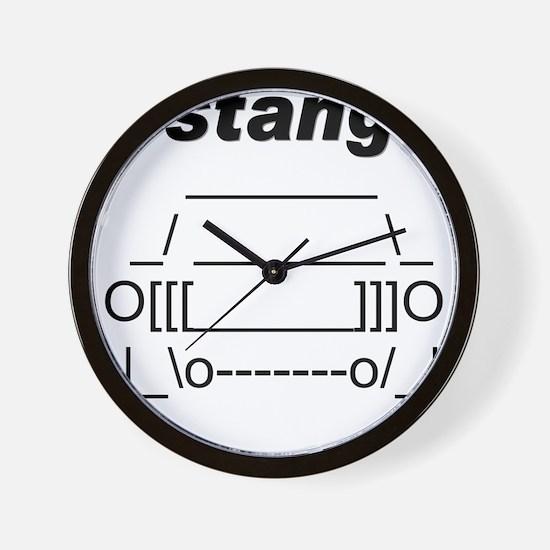 Cute 65 mustang Wall Clock
