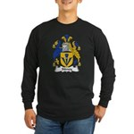 Sidney Family Crest Long Sleeve Dark T-Shirt