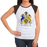 Sidney Family Crest Women's Cap Sleeve T-Shirt