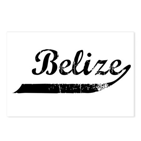 Belize Flanger Postcards (Package of 8)